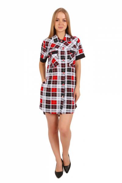 Платье-рубашка 1109