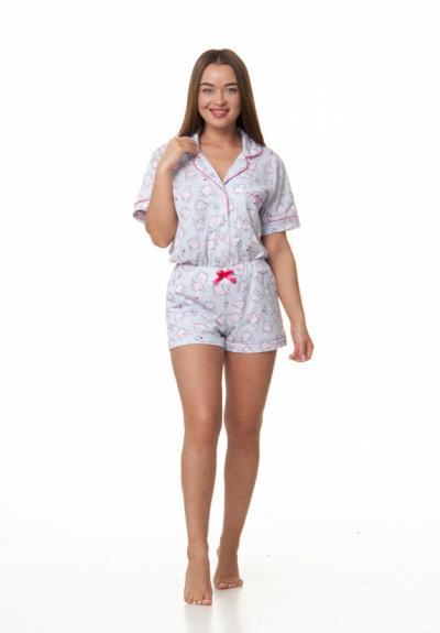 Комплект шорты и пижама 1157-1