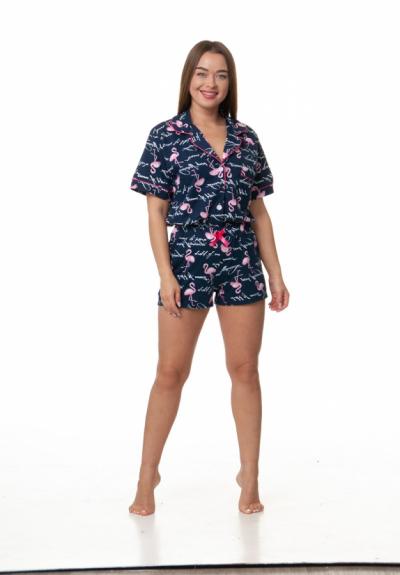 Комплект шорты и пижама 1157-2